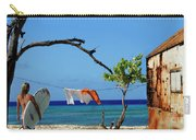 Caribbean Blues 3 Carry-all Pouch