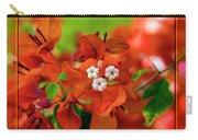 Caribbean Floral Surprise Carry-all Pouch