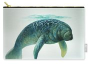 Caribbean Manatee Carry-all Pouch