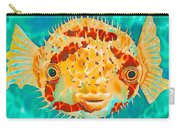 Caribbean Puffer Carry-all Pouch