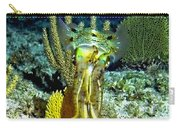 Caribbean Squid At Night - Alien Of The Deep Carry-all Pouch