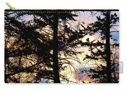 Cariboo District Sunset Carry-all Pouch