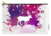 Caribou Winter Art Carry-all Pouch