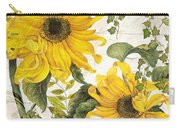 Carina Sunflowers Carry-all Pouch