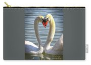 Caring Swans Carry-all Pouch