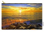 Carlsbad Sunset Carry-all Pouch