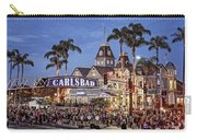 Carlsbad Village Sign Lighting Carry-all Pouch