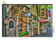 Carmel, Ca. The Shops Of Ocean Ave. Carry-all Pouch