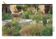 Carmel Mission Courtyard Garden Carry-all Pouch