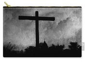 Carmel Mission Cross Carry-all Pouch