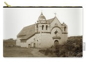 Carmel Mission  With The New Peaked Roof  1884 Carry-all Pouch