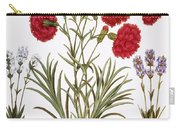 Carnation & Lavender, 1613 Carry-all Pouch