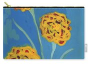 Carnations Against A Summer Sky Carry-all Pouch