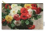 Carnations In A Vase Carry-all Pouch
