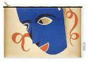 Carnaval En La Habana 1941 - Carnival Mask - Retro Travel Poster - Vintage Poster Carry-all Pouch