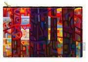 Carnelian Morning Carry-all Pouch by Mandy Budan