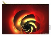 Carnelian Spiral Carry-all Pouch