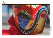 Carnival Red Duck Portrait Carry-all Pouch