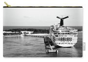 Carnival Sensation Cruise Ship - Grand Turk Island Carry-all Pouch