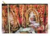 Carnival - The Carousel - Painted Carry-all Pouch by Mike Savad