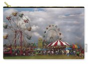 Carnival - Traveling Carnival Carry-all Pouch by Mike Savad