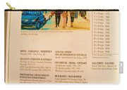Carole Spandau Listed In Magazin'art Biennial Guide To Canadian Artists In Galleries 2006-2008 Edit Carry-all Pouch