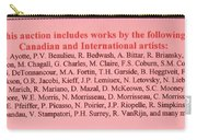 Carole Spandau Montreal Streetscene  Artist In Auction Of Canadian And International Painters Carry-all Pouch