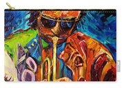 Carole Spandau Paints Miles Davis And Other Hot Jazz Portraits For You Carry-all Pouch