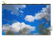 Carolina Blue Sky After The Rain Carry-all Pouch