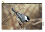 Carolina Chickadee - Birds At Bisset Park Carry-all Pouch