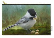Carolina Chickadee Feeding Carry-all Pouch