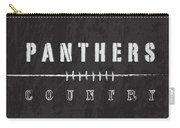 Carolina Panthers Art - Nfl Football Wall Print Carry-all Pouch