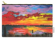 Carolina Sunset Carry-all Pouch