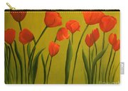 Carolina Tulips Carry-all Pouch