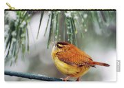 Carolina Wren Wishing For Spring Carry-all Pouch
