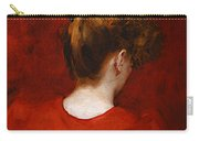 Carolus Duran Study Of Lilia Carry-all Pouch