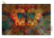 Carousel Faces, Twins Carry-all Pouch