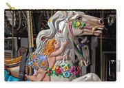 Carousel Horse And Angel Carry-all Pouch