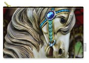 Carousel Horse  Carry-all Pouch by Paul Ward
