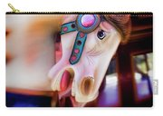 Carousel Horse Portrait Carry-all Pouch