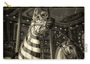 Carousel Zebra Carry-all Pouch
