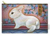 Carpe Diem Rabbit Carry-all Pouch