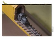 Carpenter Pencil Carved Into A Train By Cindy Chinn Carry-all Pouch