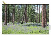 Carpet Of Lupine In Washington Forest Carry-all Pouch