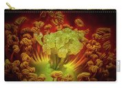 Carpet Rose Center Carry-all Pouch