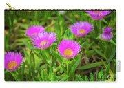 Carpobrotus Edulis Pink Ice Plant Carry-all Pouch
