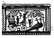 Carriage & Peacocks Carry-all Pouch