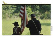 Carrier Of The Flag Carry-all Pouch