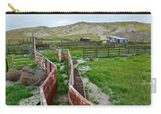 Carrizo Plain National Monument Ranch Carry-all Pouch