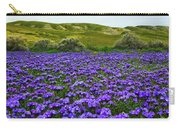 Carrizo Plain National Monument Wildflowers Carry-all Pouch